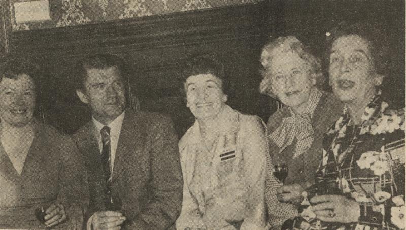 1978 golden jubilee patsy gust doreen mrs alderdice sheila
